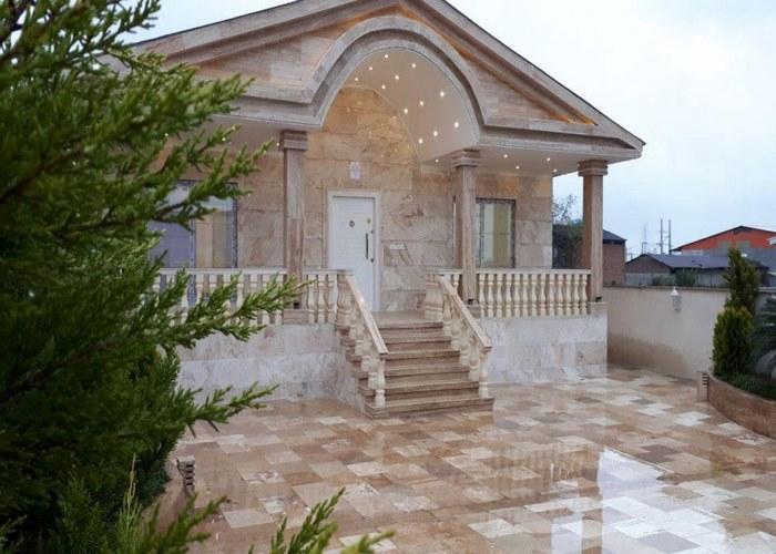 سنگ نما ساختمان ویلایی