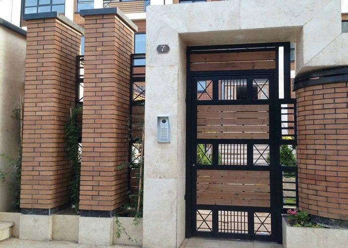 سنگ نما ورودی ساختمان